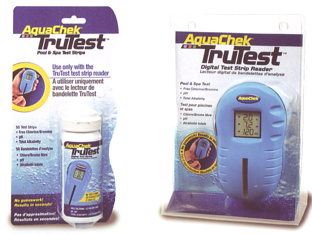 Aquachek Test Strips And Trutest Digital Technology