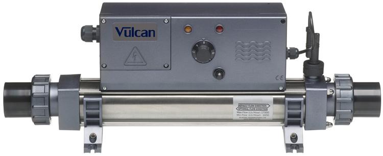 Vulcan Elecro Stainless Steel Flow Tube Titanium Heating