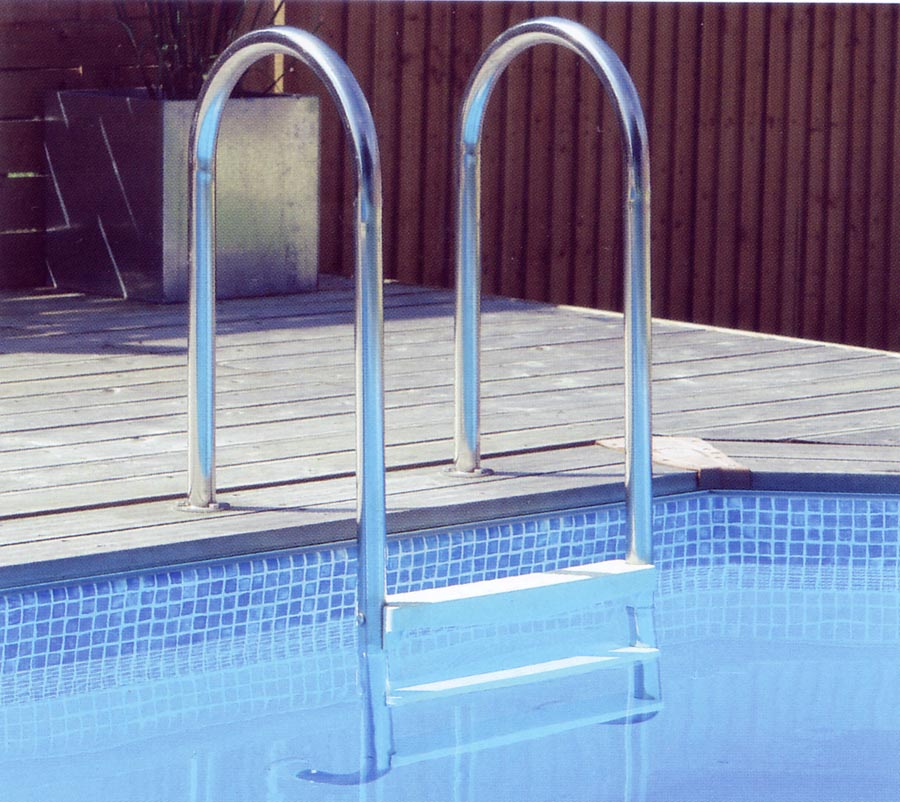 Off Deck Pool Ladder For Wooden Pools