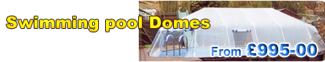 Swimming pool domes