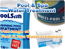 Pool & Spa Water Treatment Shop