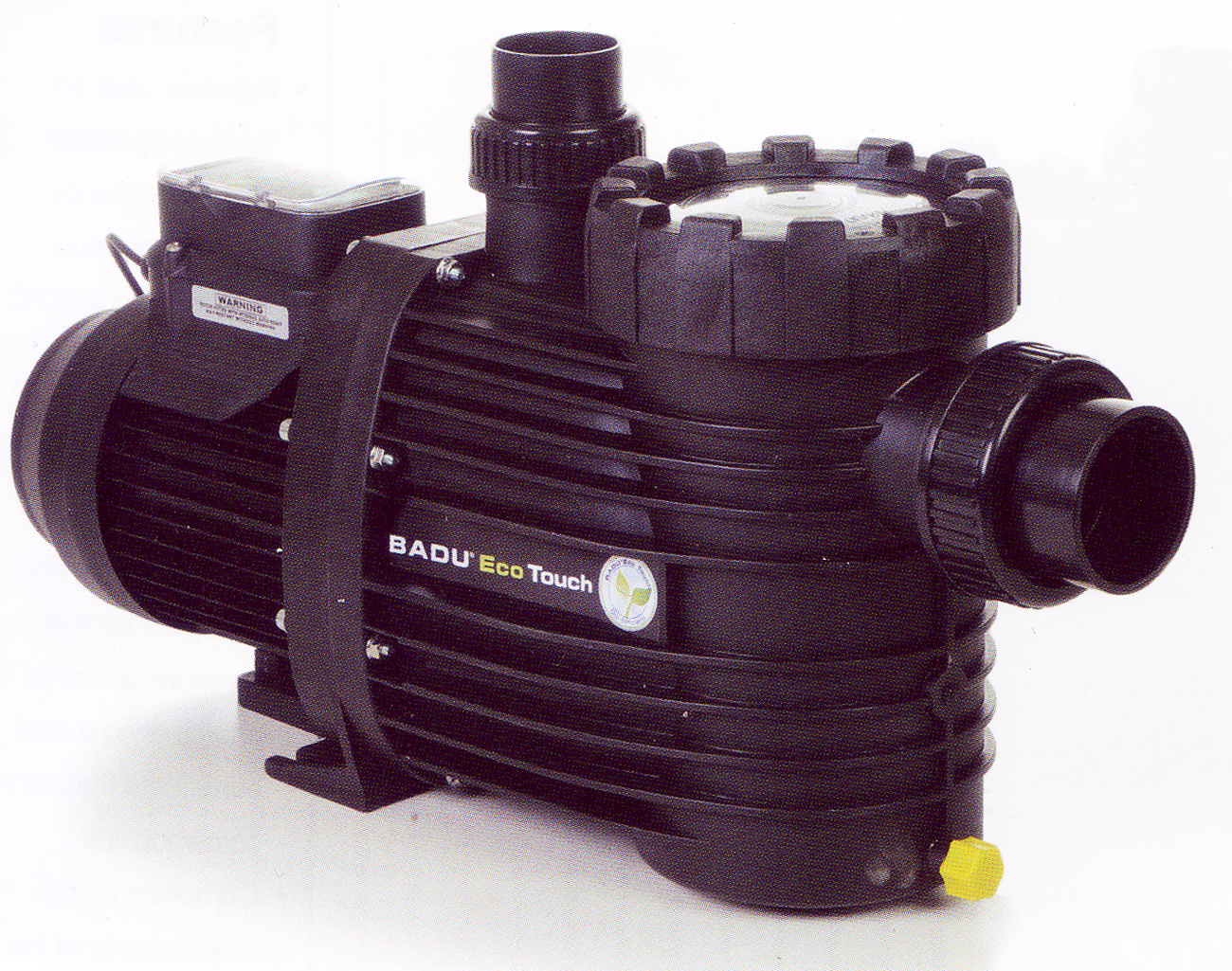 Speck Badu Eco Touch Swimming Pool Pump