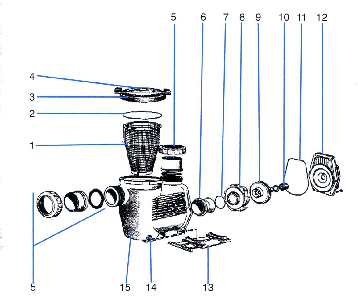 Hydrostar Pump Spares