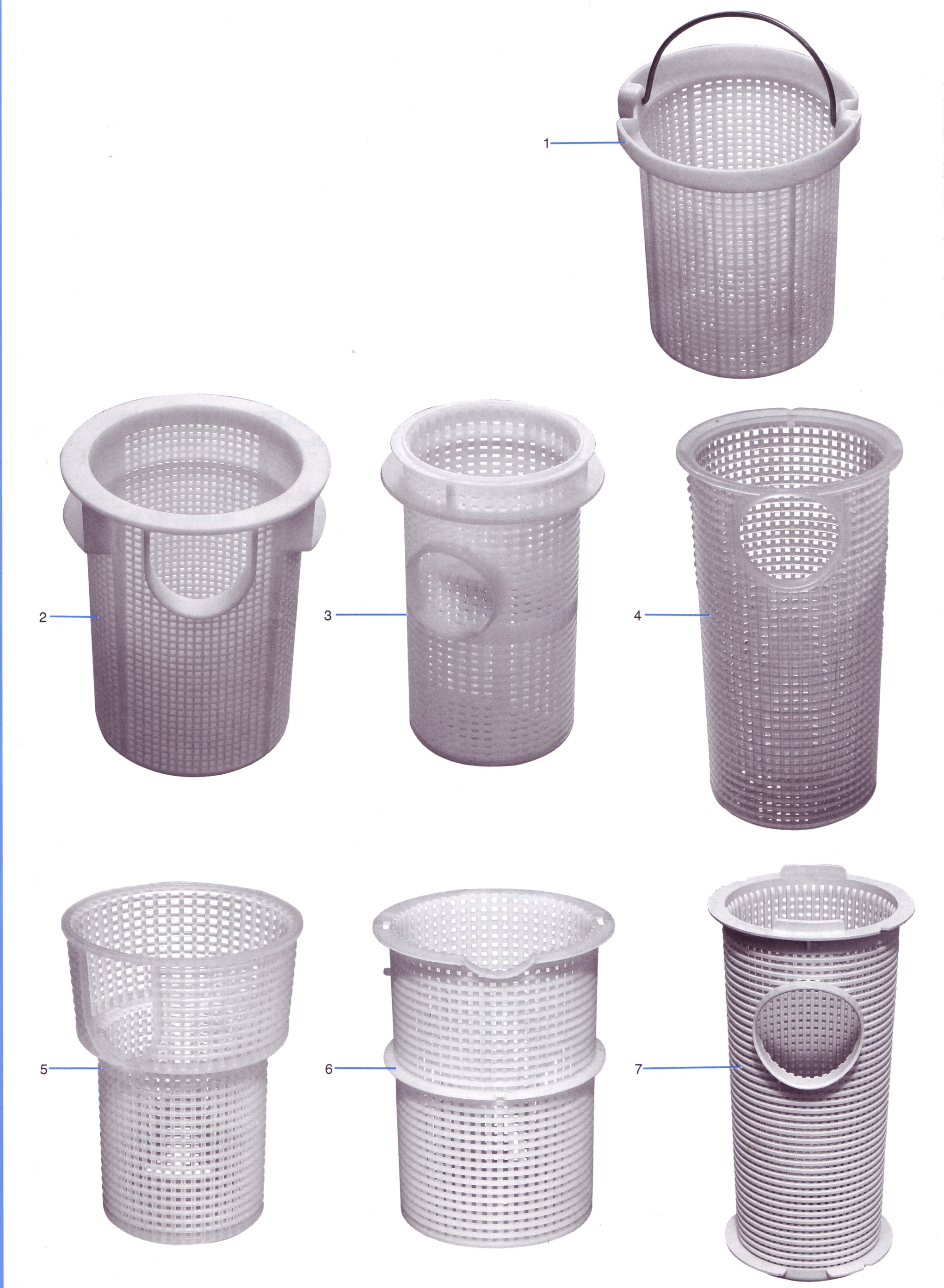 Swimming pool pump baskets - Strainer basket for swimming pool ...