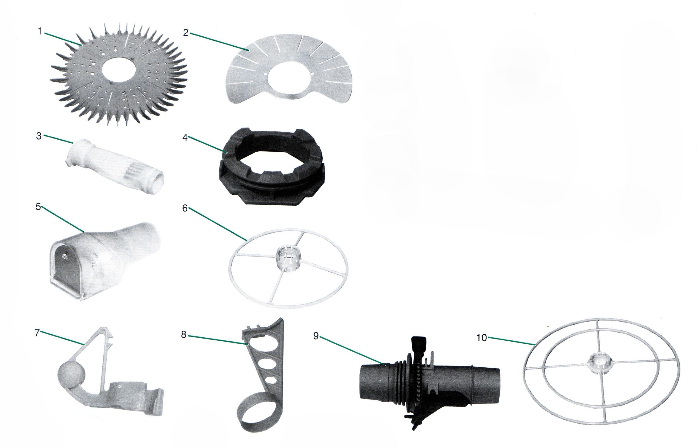 Baracuda Super Genius Parts