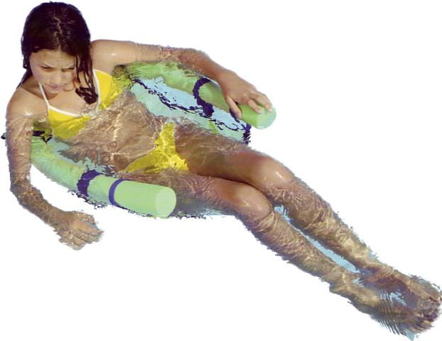Hot Tub Hammock >> Swimming Pool or Sea Comfy Water seat