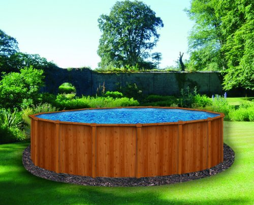 Canyon above ground swimming pool for Back garden swimming pool