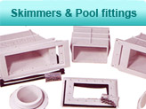 SKimmers & Pool fittings