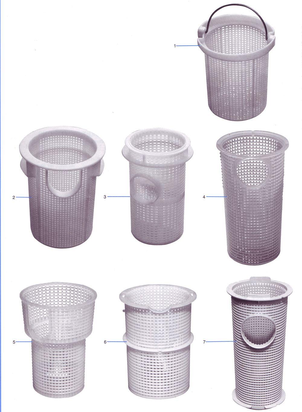 Swimming Pool Pump Baskets