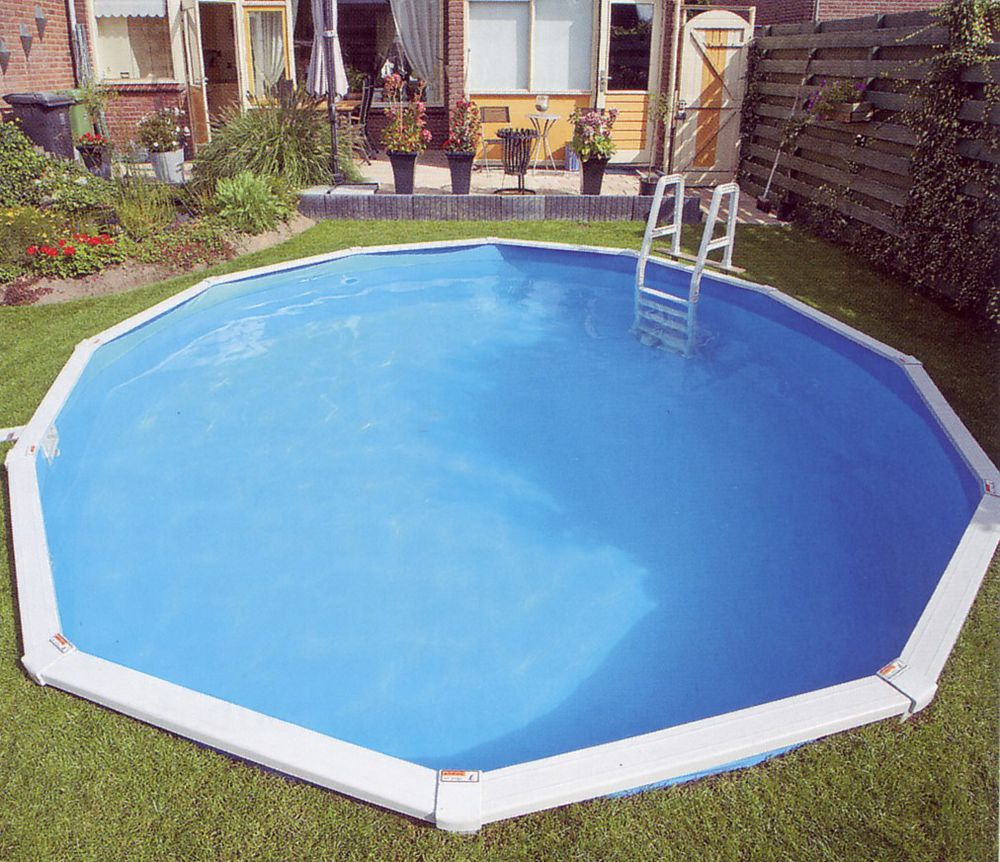 Doughboy 39 premier 39 steel swimming pool for Premier pools