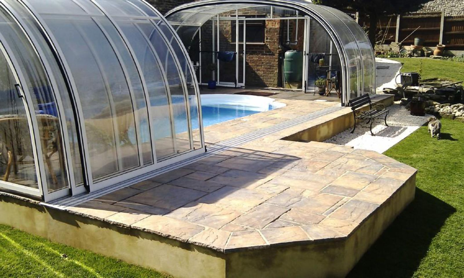 Swimming pools in ground pools above ground pools from - Swimming pool enclosures prices uk ...