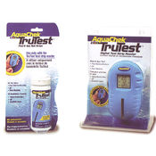 digital swimming pool water tester and strips