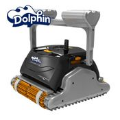 Robotic pool cleaner dolphin explorer plus