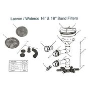 LacronWaterco 16  18 Sand Filter Parts