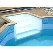 Unistep Swimming Pool Steps