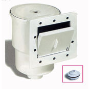 Above ground pool Standard skimmer and return inlet