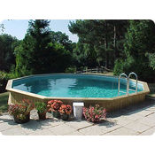 Folkpool Deep Topaz Timber Swimming Pool
