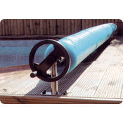 Premium Above ground Reel with decking support stands