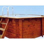 Octagon Wooden Swimming Pool