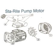 Sta Rite Pump Motor Parts Diagram
