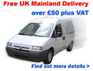 Free UK mainland delivery over £50
