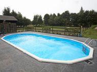 Above Ground Pools, Aluminium and Steel Swimming Pools
