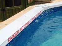 EW 'No Diving' Safety feature