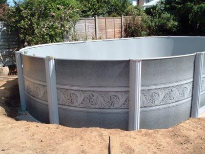 Esther Williams 30 X 15 Oval Aluminium Pool Case Study