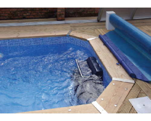 Dolphin wooden pool