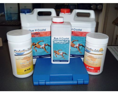 Non Chlorine Blue Crystal Water Testing Packs
