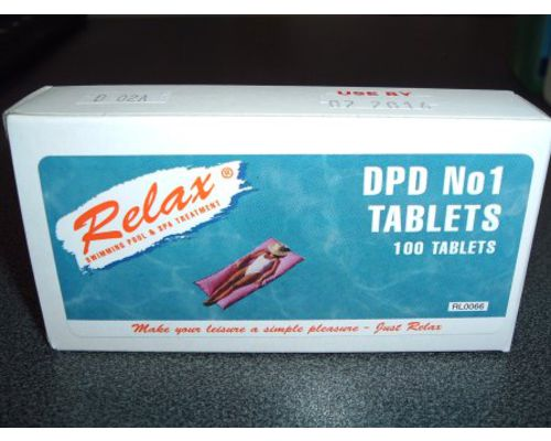 Swimming Pool DPD Tablets