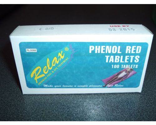 Swimming Pool Phenol Red Tablets
