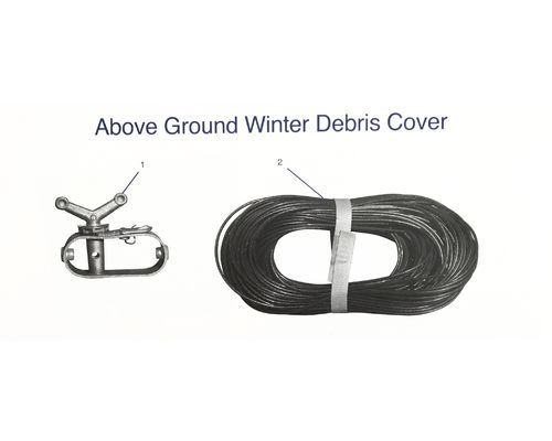 Above Ground Winter Debris Cover