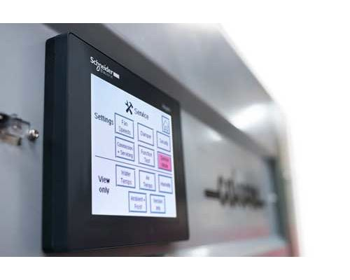 Delta touch screen