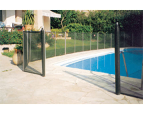 Plastica swimming pool pond rollaway fencing 1096 p