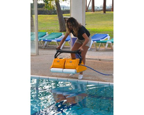 Automatic dolphin 2 x 2 pro gyro pool cleaner - Swimming pool cleaning equipments ...
