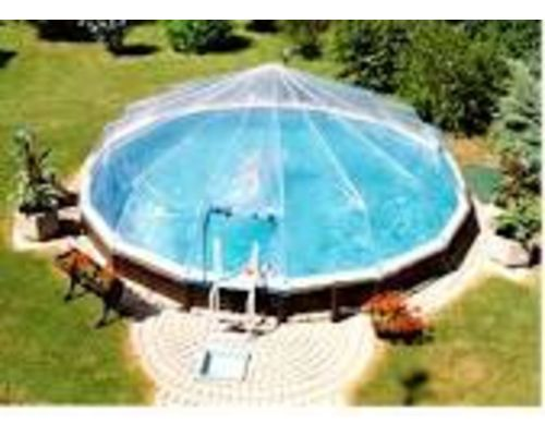 Fabrico dome round above ground pools