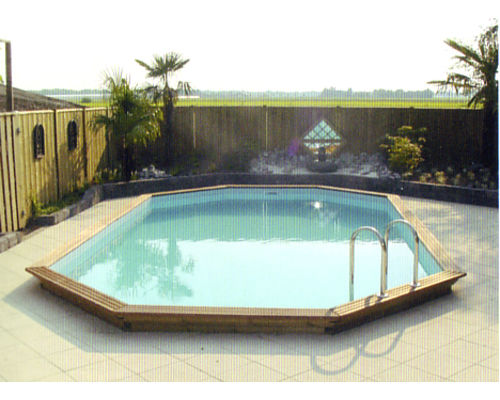 Gardi Octoo Oblong Wooden Swimming Pool