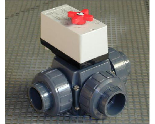 Suncell 3-way Mororised Valve