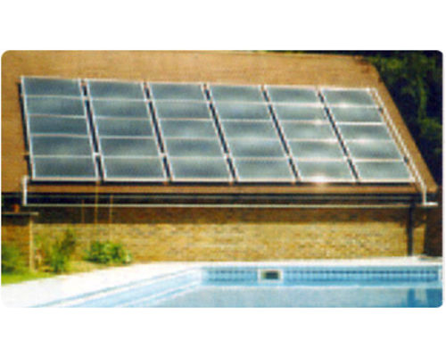 Bank of Suncell Panels on roof