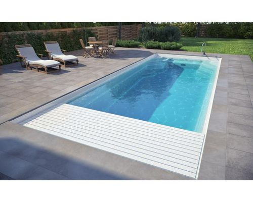 Luxe Pools - Wana with Slatted Cover