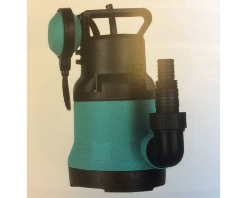 Plastic body submersible pump