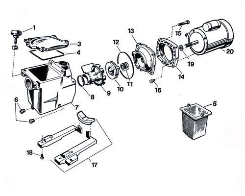 Hayward super pump spares - Swimming pool pump and filter diagram ...