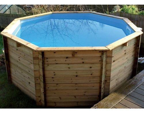 Wooden fun pool