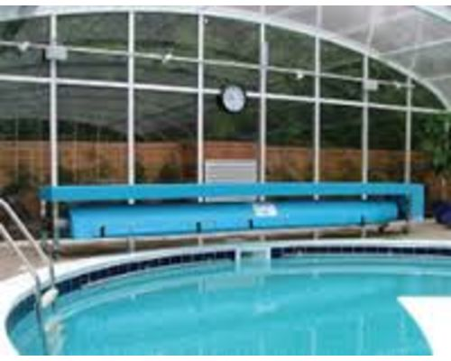 Commercial pool rollers and cover systems
