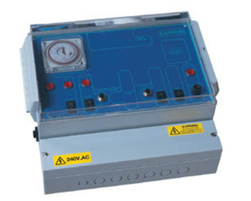 Spa electric control panels