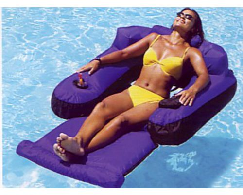 Luxury Floating Swimming Pool Lounger