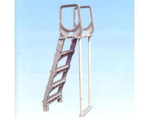 Grey Swing up Ladder shown without outer step