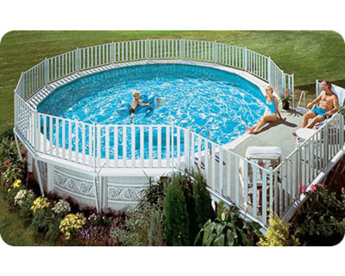 Classic aluminium swimming pool kits for Williams indoor pool swim lessons