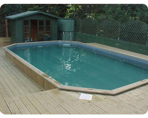 Folkpool 'Emerald' Timber Swimming Pool